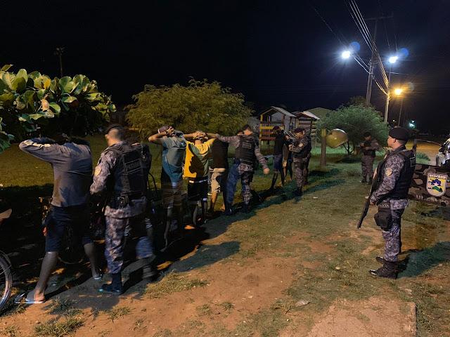 6º Batalhão PM intensifica o patrulhamento em Guajará-Mirim