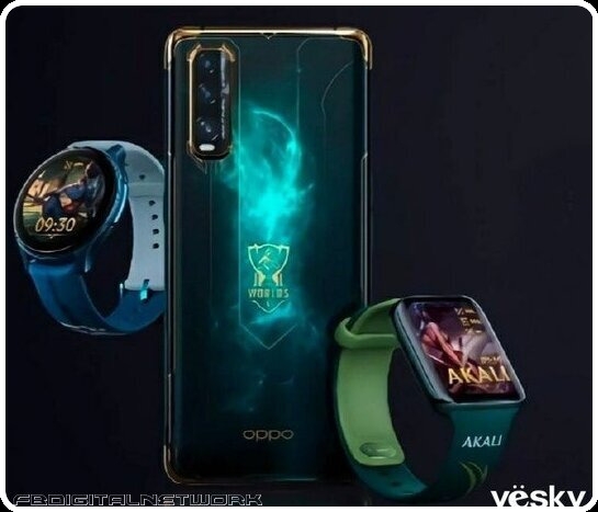 OPPO Find X2 League of Legends Limited Edition will be released on October 19