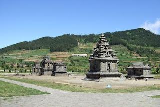 Komplek Candi Arjuna Dieng