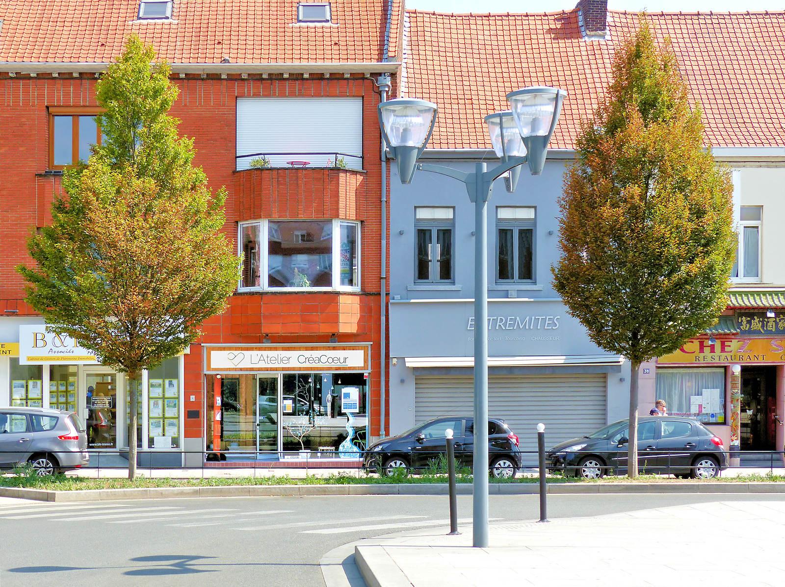 L'Atelier Créacoeur - Place Roussel, Tourcoing.