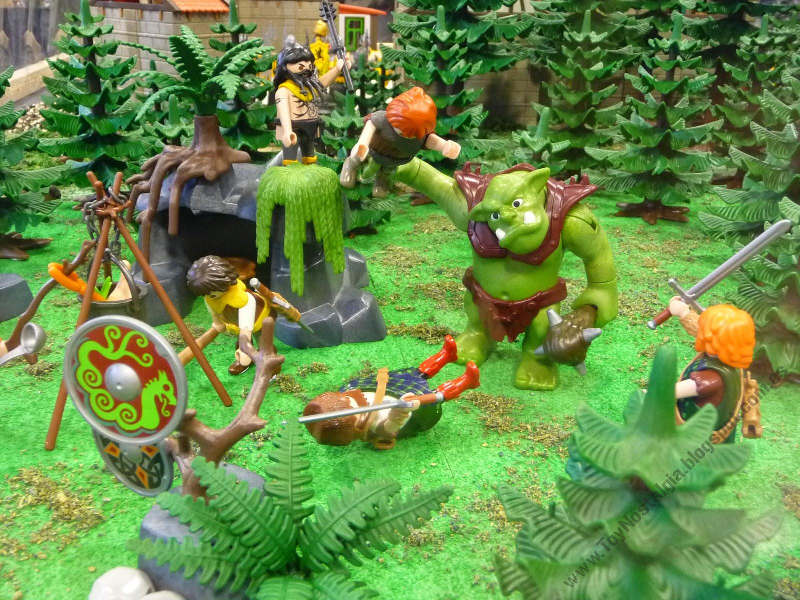 Diorama Playmobil Fantasia Fantasie Ogros
