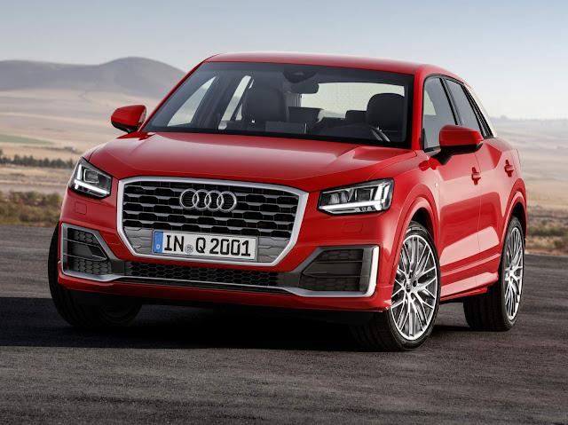 novo Audi Q2 2017