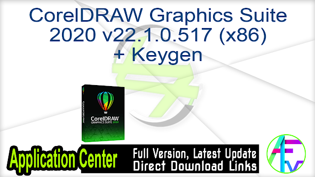 CorelDRAW Graphics Suite 2020 v22.1.0.517 (x86) + Keygen