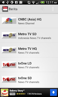 Indonesia TV di Android
