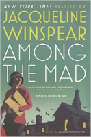 Among the Mad by Jacqueline Winspear (Book cover)