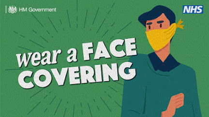 Face coverings UK Government