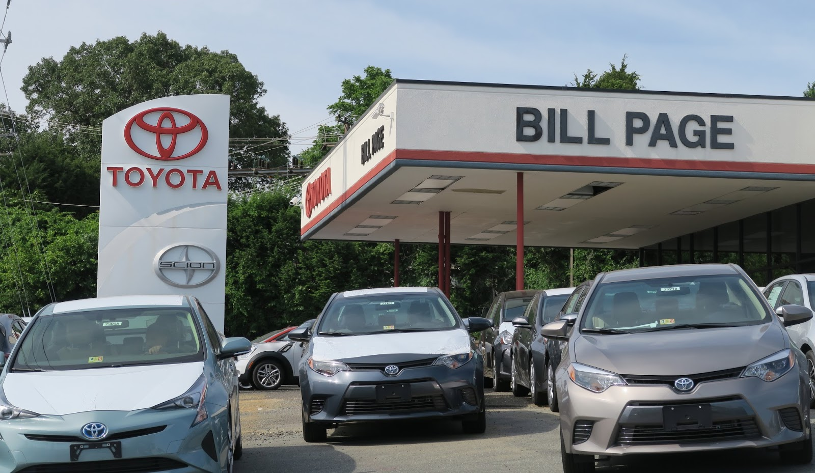 the annandale blog work under way on expanded bill page toyota dealership. Black Bedroom Furniture Sets. Home Design Ideas