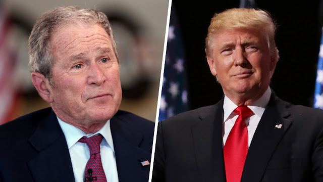 George H.W. Bush calls Trump a 'blowhard' in new book: 'I don't like him' - The Daily Trump News
