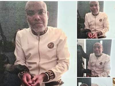 Nationwide Tension As Nigerian Government Arrests Separatist leader, Kanu.