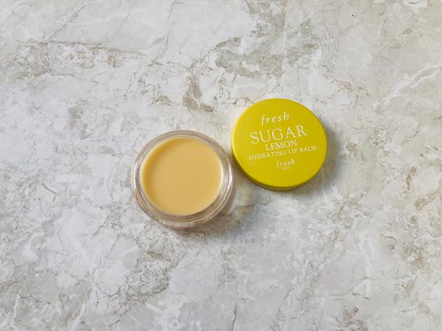 Fresh Sugar Lemon Hydrating Lip Balm | bellanoirbeauty.com