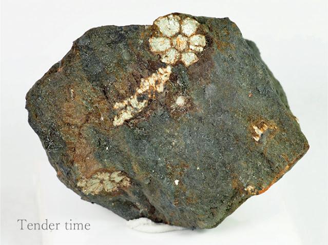 桜石 菫青石仮晶 セラサイト 京都府亀岡市湯の花 Cerasite