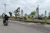 Belum Dua Bulan Selesai Diperbaiki, Jalan Dua Jalur Kota Tebo Kembali Rusak
