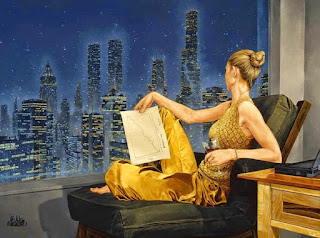 mujeres-en-pinturas-magico-realismo pinturas-mujeres-realismo-oleo