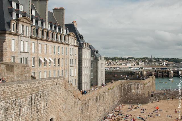 Que ver en Saint-Malo viaje Bretaña Francia Normandia coche