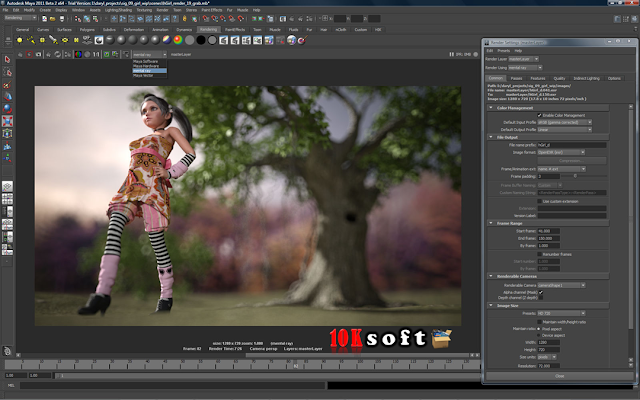 Autodesk Maya 2010 Offline Setup File Free Download