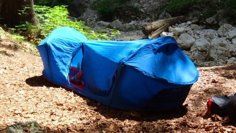 Single Person Bivy tent by Mammut & Mammut Lodge Bivy Tent - First Impression