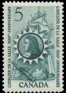 Canada René-Robert Cavelier, Sieur de La Salle