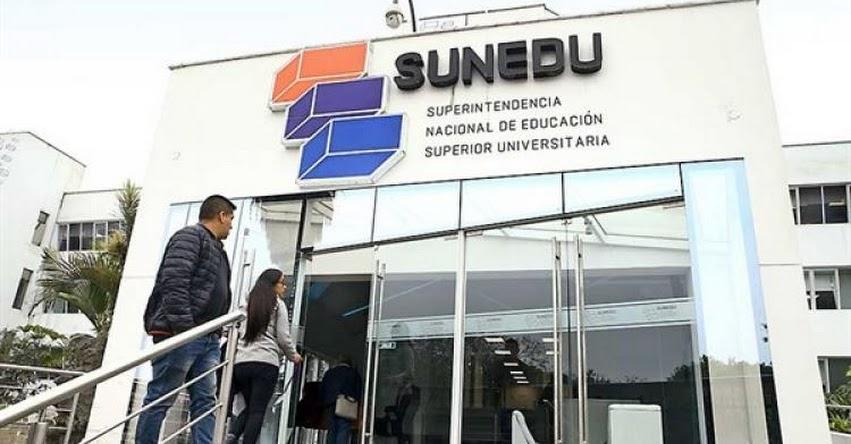 SUNEDU: Poder Judicial declara infundada demanda contra la Superintendencia Nacional de Educación Superior Universitaria