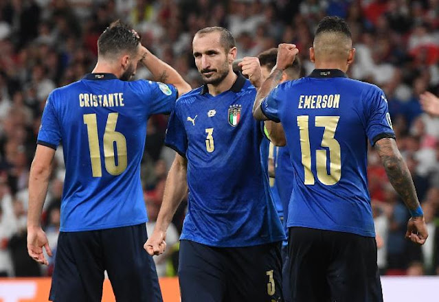 Italia vs Inggris 1-1 Hingga 120 Menit Final Euro 2020, Lanjut ke Adu Penalti .lelemuku.com.jpg