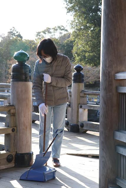 奈良公園清掃活動