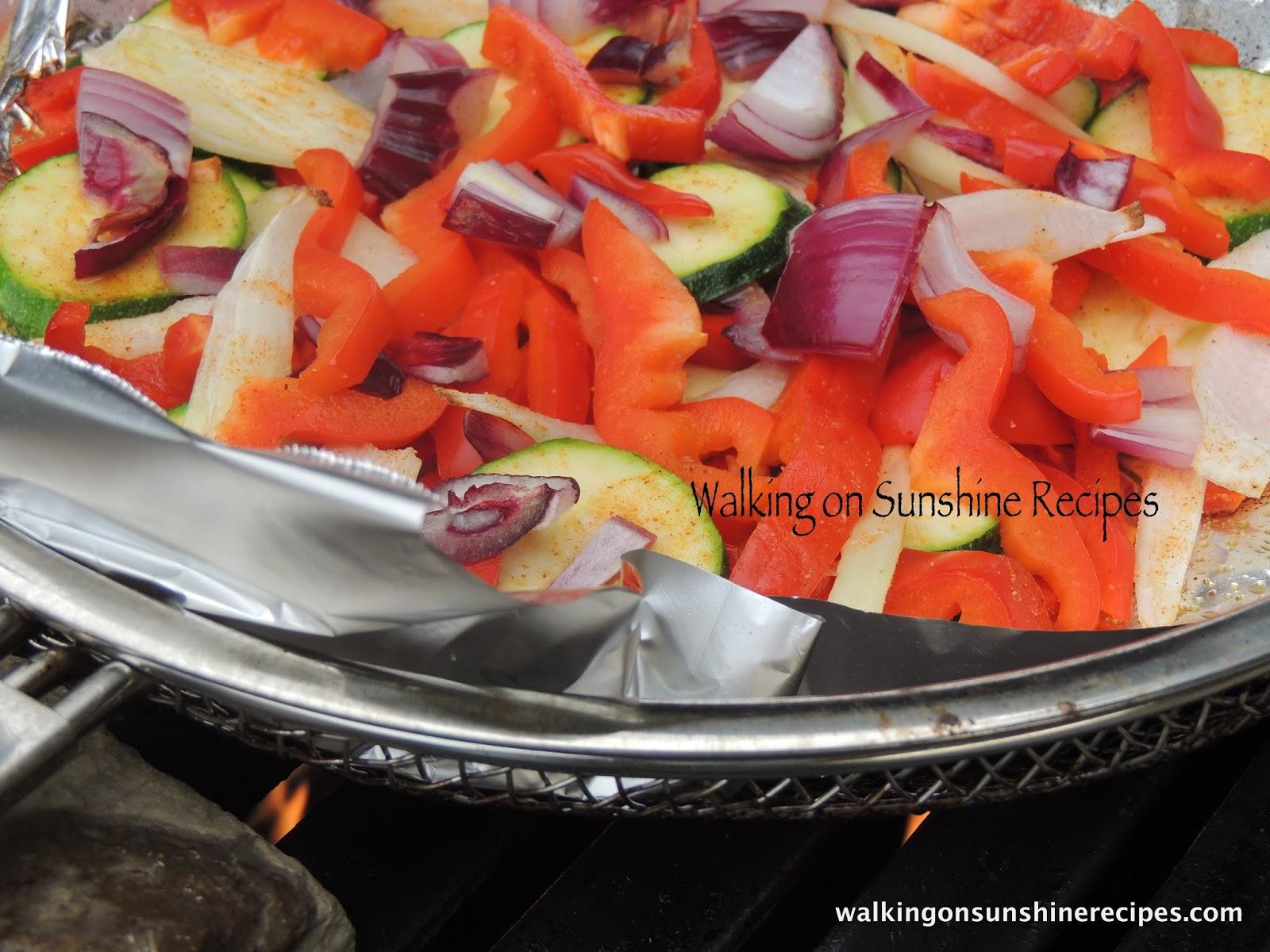 Grilled Vegetables...| Walking On Sunshine Recipes