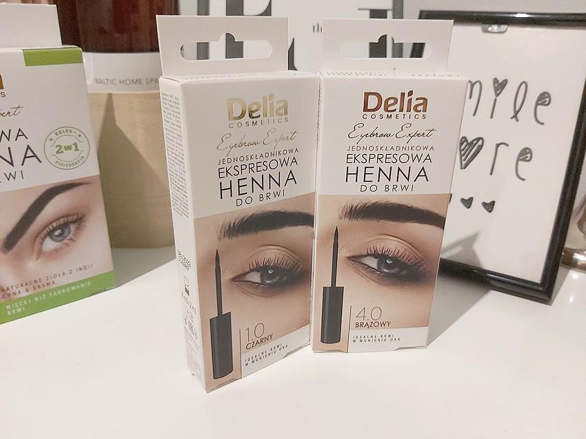 delia eyebrow expert kosmetyki do brwi
