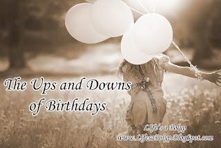 birthday balloons girl running