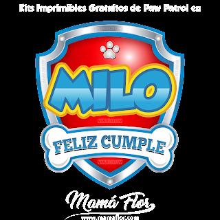 Logo de Paw Patrol: MILO