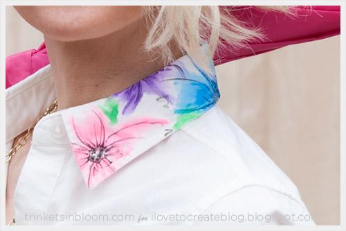 Watercolor Dress Diy Ilovetocreate