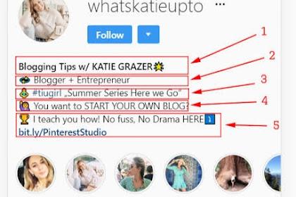 Cara Merubah Font Bio Instagram Tanpa Aplikasi
