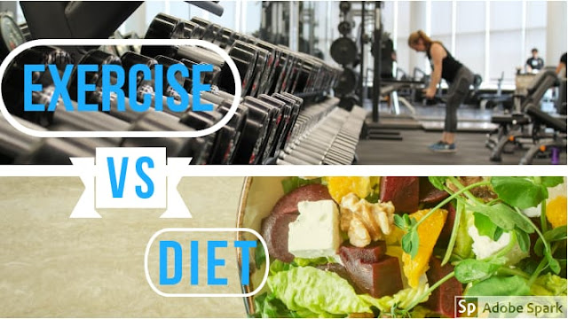 WHAT IS MORE IMPORTANT DIET OR EXERCISE FOR FAT LOSS