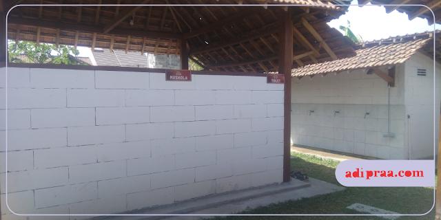 Musholla dan Toilet | adipraa.com