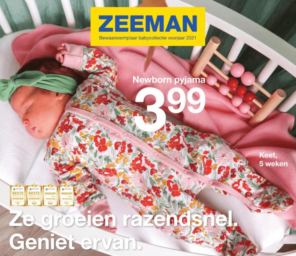 Zeeman baby folder 2021
