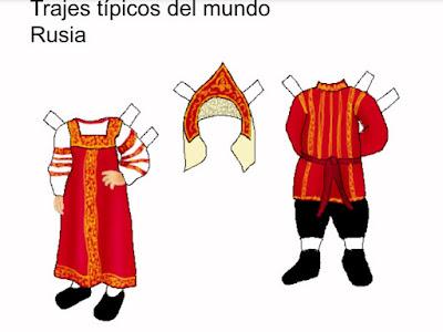traje típico de Rusia