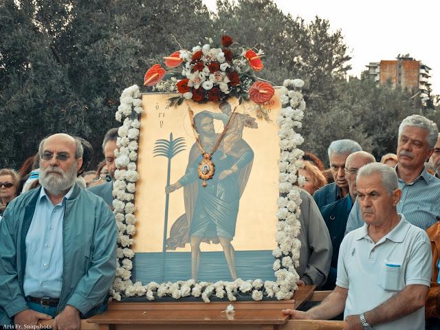 Περιφορά Εικόνας Αγίου Χριστοφόρου στην Μαλακοπή