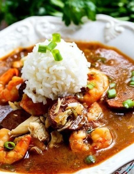 Seafood Gumbo Slow Cooker