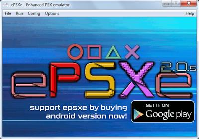 ePSXe 2.05 + Bios + Memory Cards (PS1 Emulator)