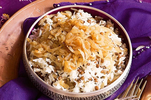 Lebanese Lentils And Rice Recipe