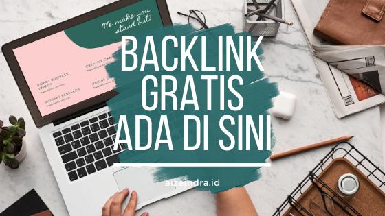 backlink gratis untuk pemula