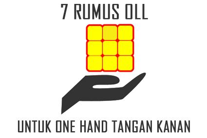 rumus rubik one-handed tangan kanan