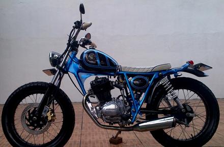 Modifikasi Honda CB Terbaru