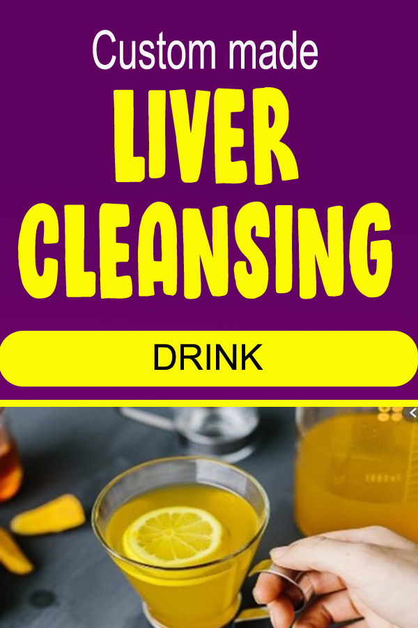 Custom made LIVER CLEANSING DRINK