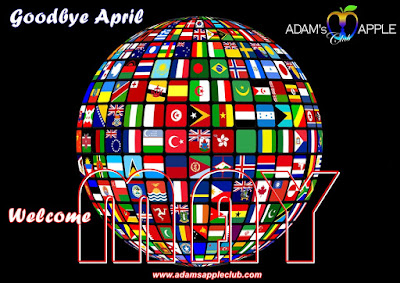 Goodbye April Welcome MAY 2021 Adams Apple Club Chiang Mai