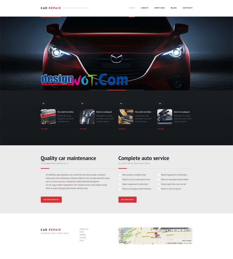 CARREPAIR Responsive WordPress Theme