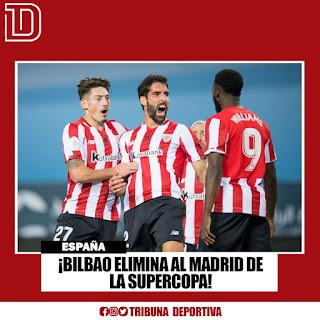 🇪🇦BILBAO ELIMINA AL MADRID DE LA SUPERCOPA 🇪🇦⚽