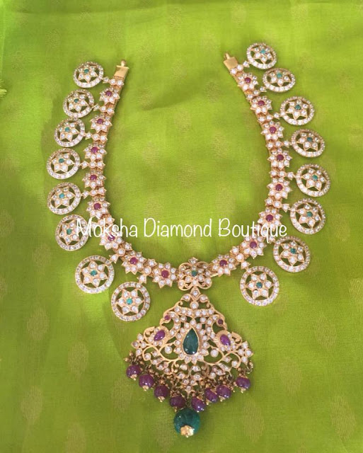 Latest Bottu Mala from Moksha Diamonds