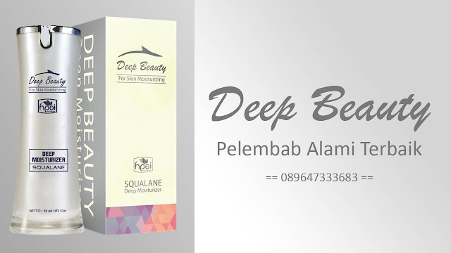 Deep Beauty Squalane Solusi Kulit Cantik Alami dan Sehat Best Seller !