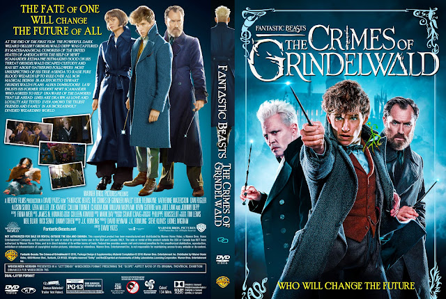 Fantastic Beasts: The Crimes of Grindelwald DVD Cover