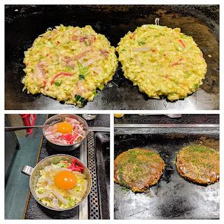 Things to do in Matsumoto Japan: Eat okonomiyaki