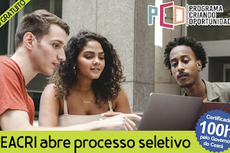 OSC Ceacri de Itapiúna abre processo seletivo para o Curso gratuito de Marketing e Vendas